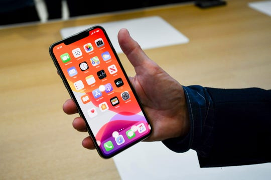 The new iPhone 11 Pro & 11 Pro Max which run iOS 13.