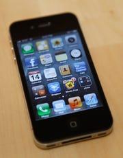 Apple's iPhone 4s, running iOS 5.