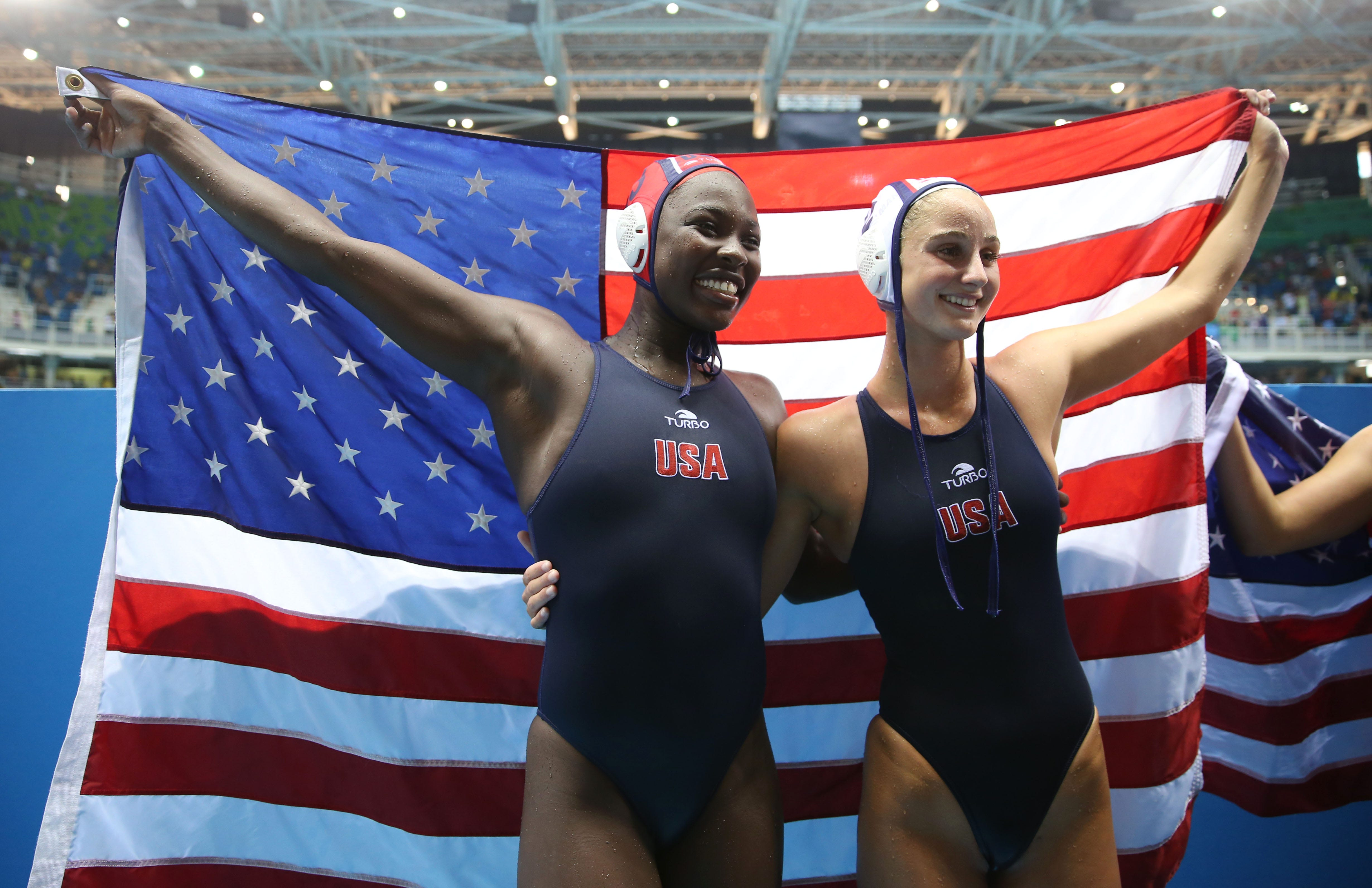 How Ashleigh Johnson is breaking barriers in Olympic womens' water polo