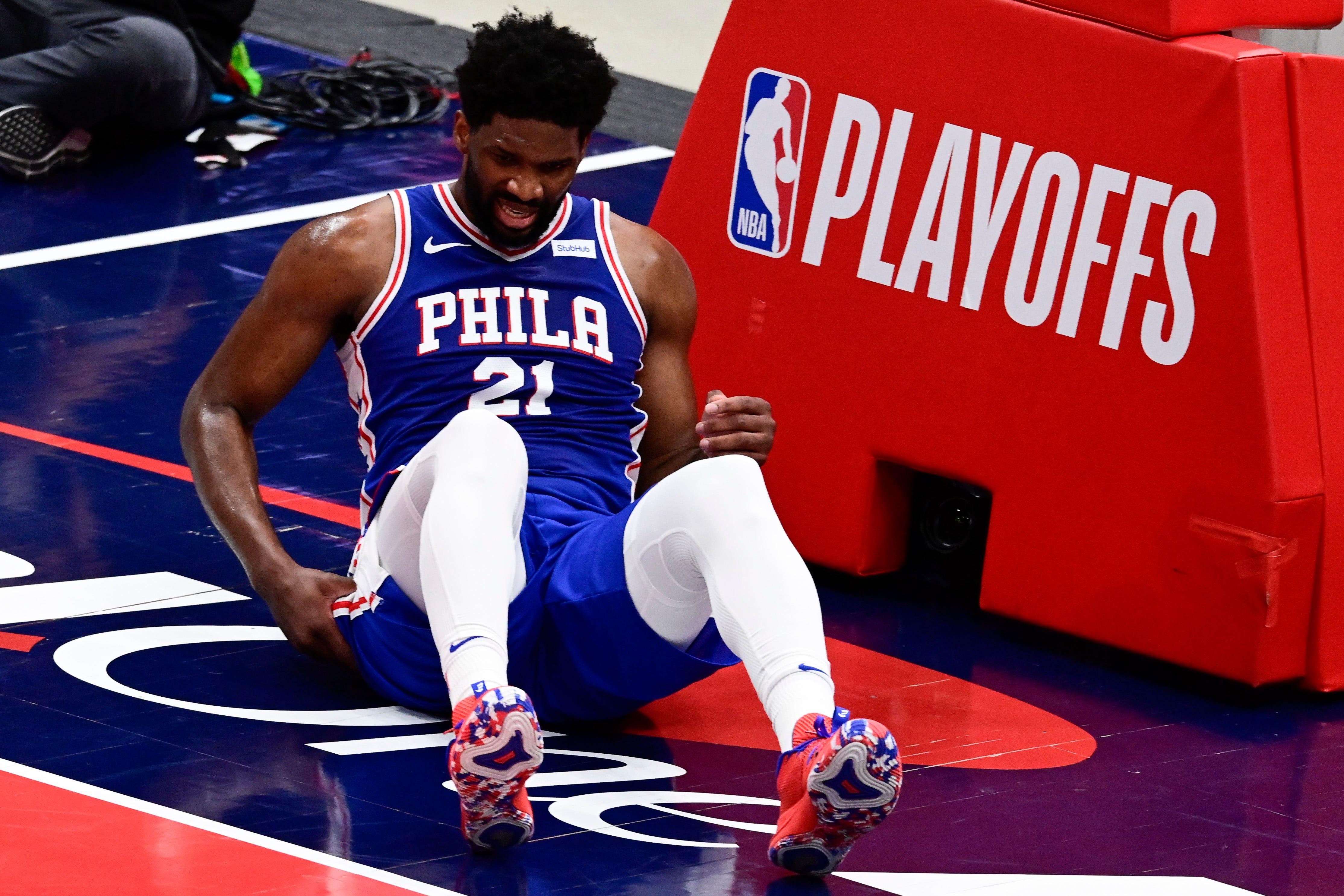 Joel Embiid doubtful for Philadelphia 76ers' NBA playoff Game 5 vs. Washington Wizards