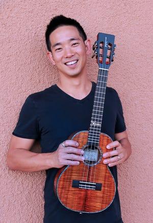 Ukulele virtuoso Jake Shimabukuro is scheduled to perform at the Classic Center in Athens, Ga. on Sunday, June 13, 2021.