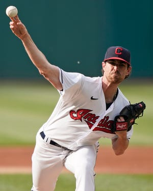 Shane Bieber has been on the injured list since June 14 with a shoulder strain.