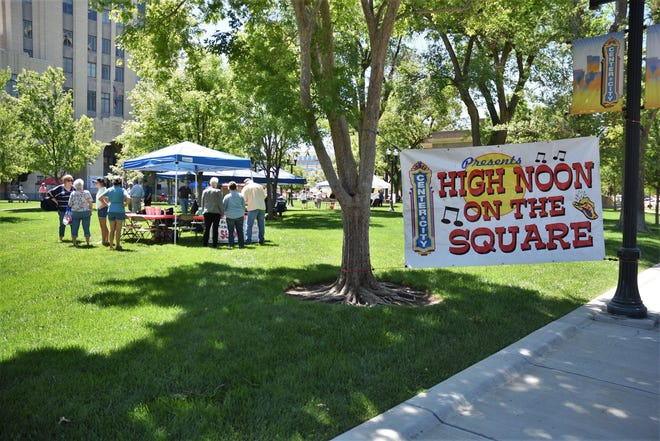 High Noon on the Square made its return to the Potter County Courthouse Lawn on Wednesday following the cancelation of the 2020 edition due to the COVID-19 pandemic.