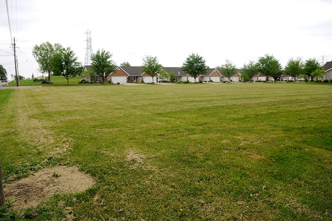 This is the property on Mifflin Avenue seen here Wednesday, June 2  that the Ashland City Schools asked the city to rezone for a parking lot at Tuesday's city council meeting.