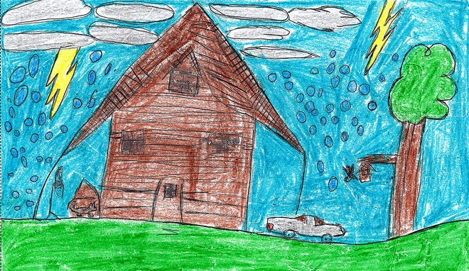 Illustration by Colton McCune Black River Elementary, third grade
