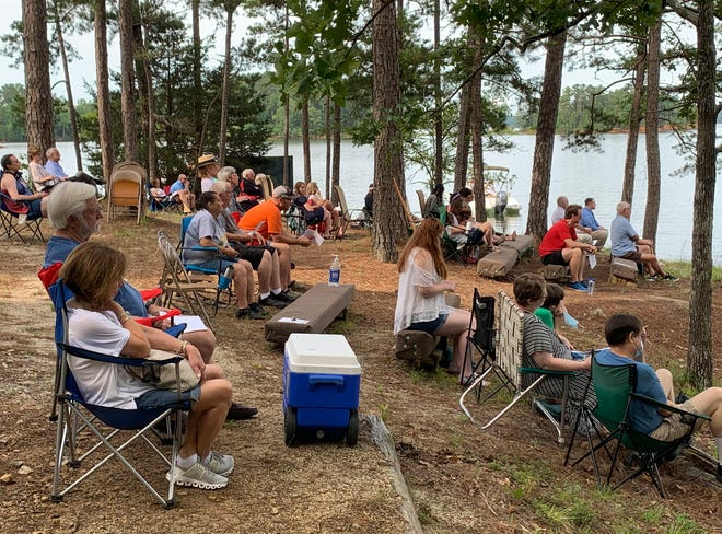 St. John United Methodist Church will resume its Chapel Under the Pines at its lake property on June 6.