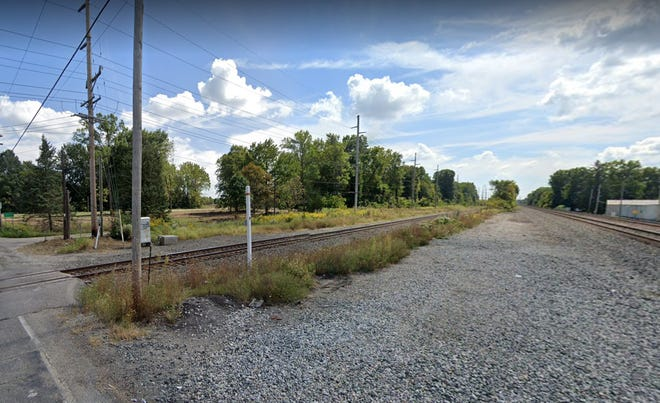 A person was hit and killed by a train Wednesday evening on railroad tracks in the area of Park Road.