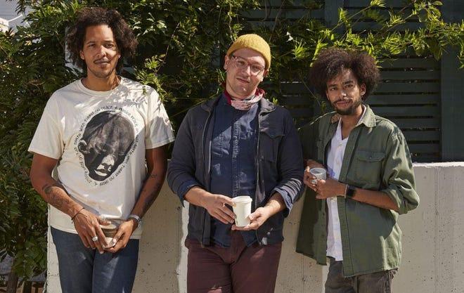 Ben Willis, Wyatt Burk and Jeffrey Clark of Parable Coffee