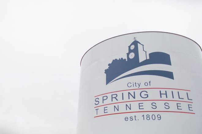 A cloudy sky covers Spring Hill on Tuesday, Feb. 11, 2020.