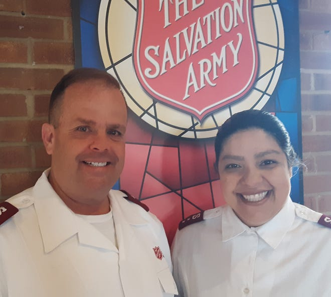 Wayne and Claudia Meads, officers for the Salvation Army of Davidson County, will be leaving to take over leadership of the organization in Rocky Mount