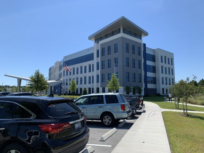 This is the headquarters for Security First Insurance along the east side of Interstate 95, just south of North U.S. Highway 1, in Ormond Beach on Tuesday, June 1, 2021. The company which employs 410 workers is currently looking to fill 60 jobs.
