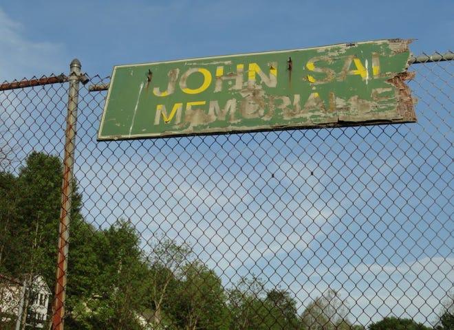 The north ballfield near the Hudson Street and Main Avenue corner (opposite The Settlers Inn) in Bingham Park, Hawley, was dedicated in memory of John Salak.