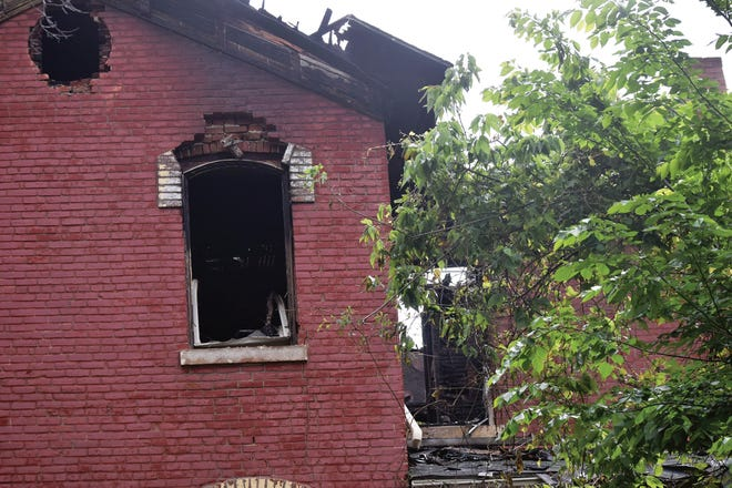 The cause of a fire that damaged a vacant house on North Eighth Street remains under investigation.