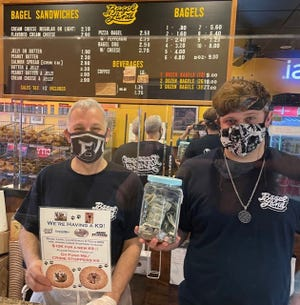 Rochester Area Crime Stoppers is partnering with Bagel Land in Brighton to raise $10,000 for the purchase of a new K-9 for local law enforcement. The campaign runs through Labor Day.