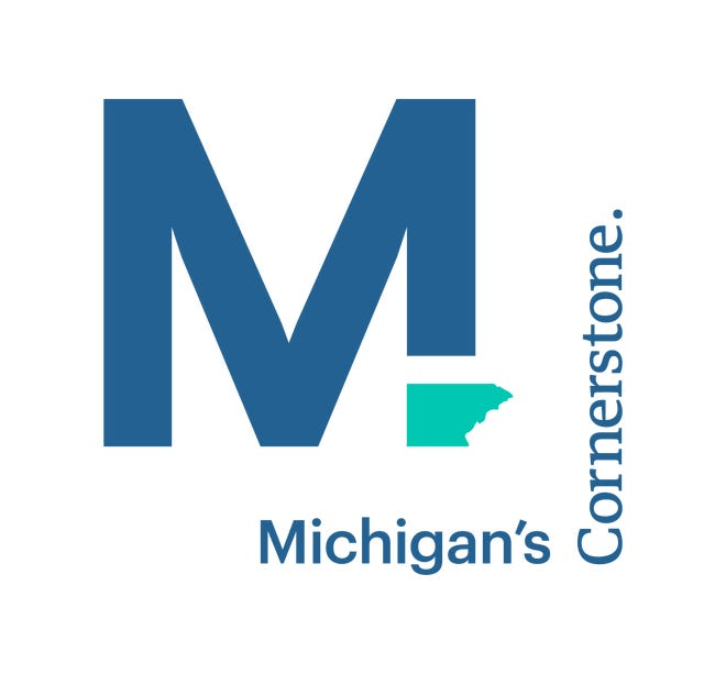 This is the logo for a new online community events calendar for Monroe County that will be launched this summer to promote tourism and businesses in the county.
