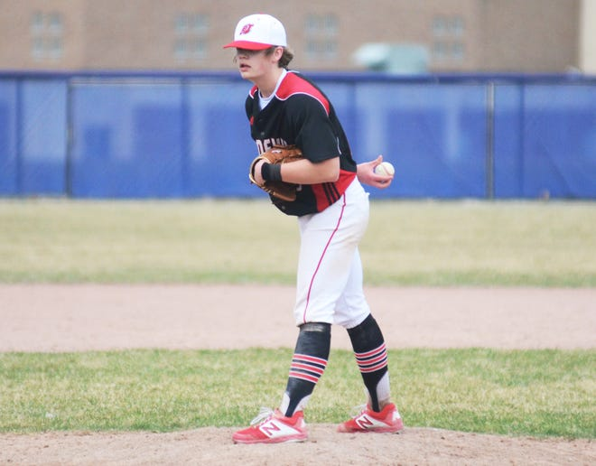 Tommy Reid was dialed in once again for East Jordan Tuesday, throwing a 15-strikeout no-hitter to help EJ advance in districts.