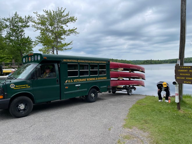 The Pocono Lions Club has partnered with U.S. Veterans Rowing and Kayaking to form the Pennsylvania Veterans Rowing and Kayaking Program (PAVRAK).