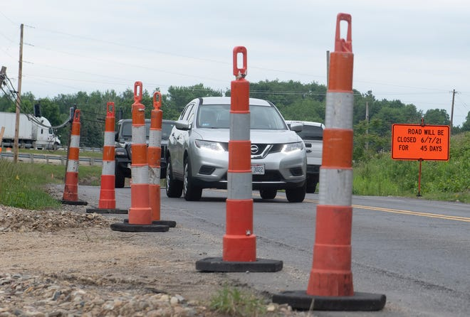 Mogadore Road north of Tallmadge road is closed because of roadwork in the area. A potential change in state law that would allow some taxpayers to seek municipal income tax refunds has some taxpayers worried about how they will pay for city services such as paving.
