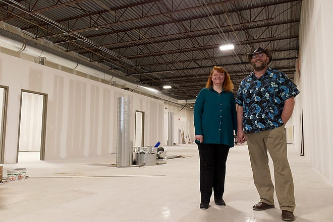 """Erin Gustafson, a CPA by training, will own Norm's Finishes with her husband, David """"Norm"""" Gustafson, who will be its chief operation officer and director of operations when it opens July 4."""