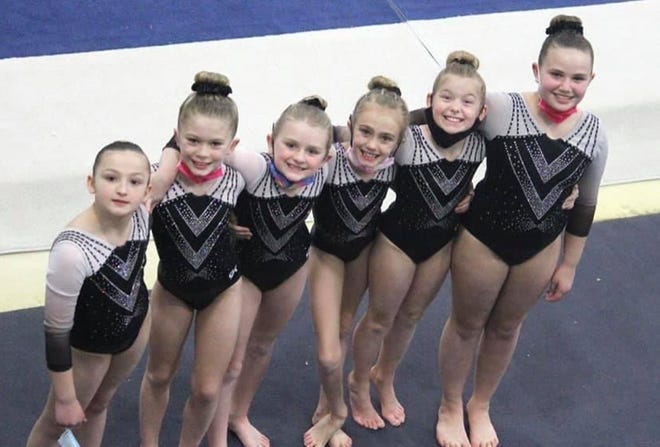The Martinsville Academy Gym Stars Level 3 team. (Submitted photo)