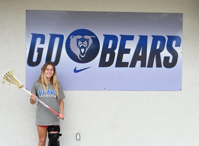 Star lacrosse athlete Ryann Frechette suffered a ACL injury last season. The rising sophomore is motivated to recover as soon as possible.