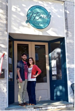 Steve Padgett, director of small business and entrepreneur development at Cleveland Community College, said Justin and Madison Webber had one of the most impressive marketing plans he has ever seen. Now their restaurant, J-Birds Deli and Ales is thriving.