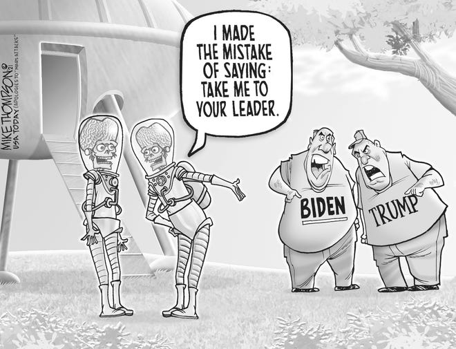 Cartoon: Take me to your ... leader?