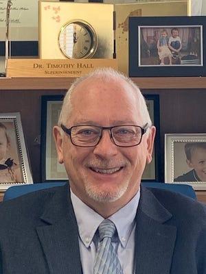 Superintendent of Sault Schools Dr. Tim Hall.