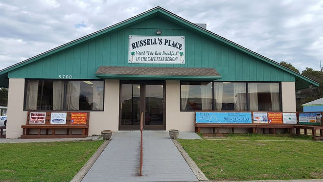 Russell's Place restaurant announced that they would permanently close on Oak Island.