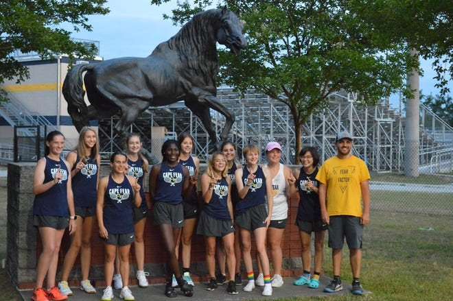 For the second consecutive season, Cape Fear and Terry Sanford will share the girls' tennis crown in the Patriot 4-A/3-A Conference.