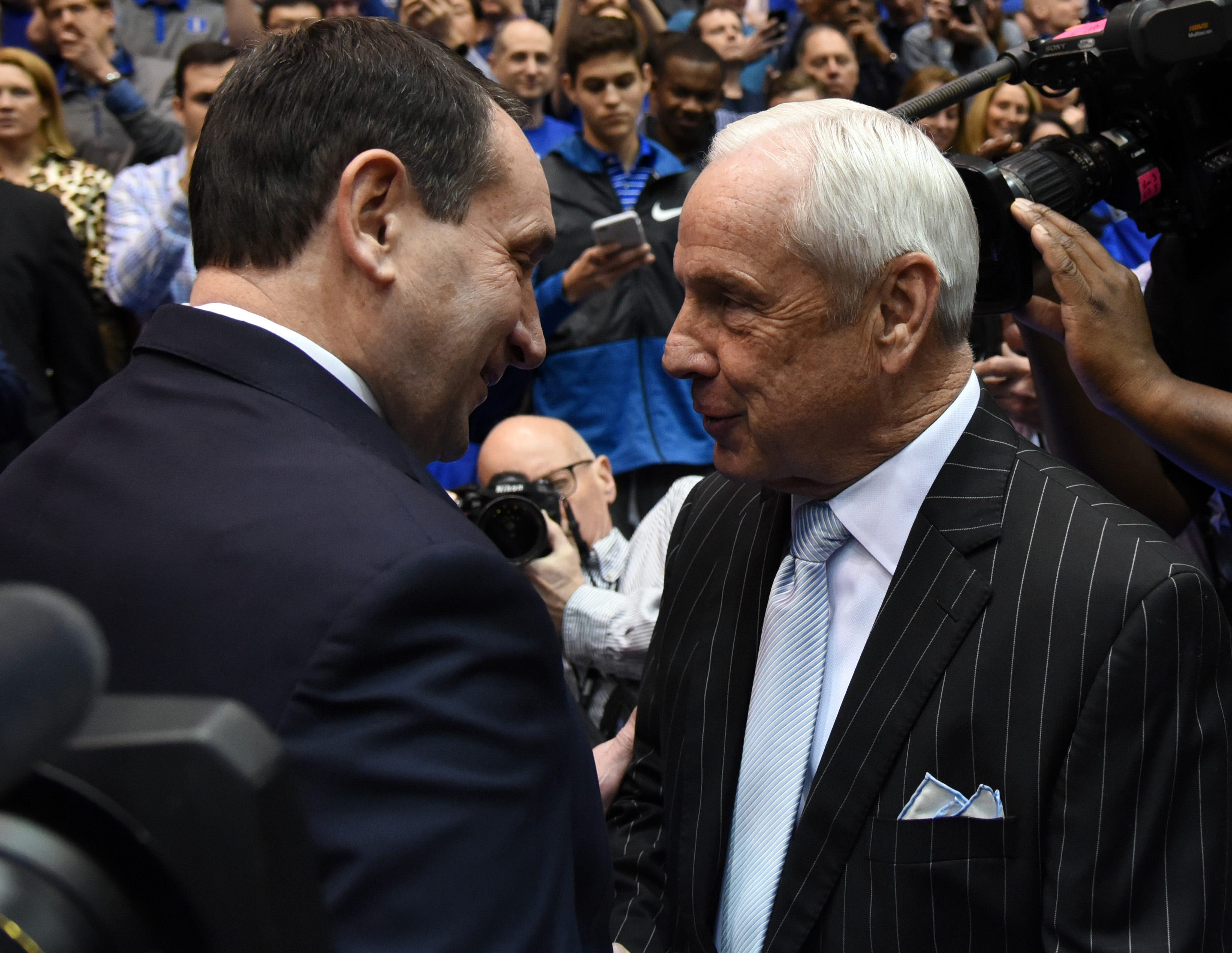 Roy Williams reacts to Coach K retirement news: 'Phenomenal in everything he's done'