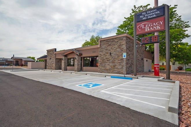 Legacy Bank, 1301 S. Pueblo Blvd., will serve the South Side Regency Park area.