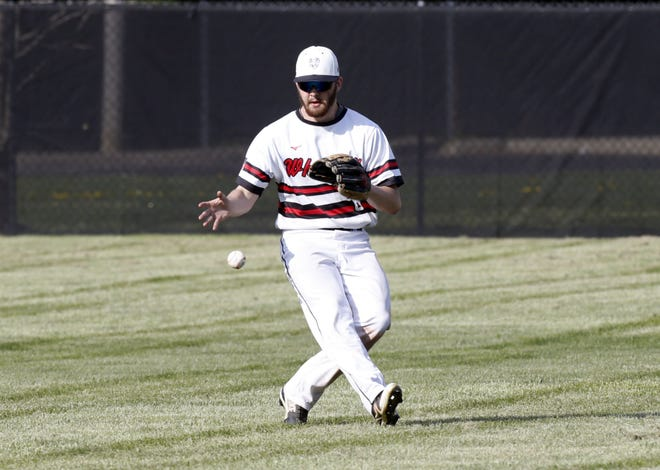 Senior David Winegarner joined the Whitehall-Yearling baseball team just before the start of the season and became a key leader for the underclassmen. The Rams finished 2-13 overall and 2-9 in the MSL-Ohio Division.