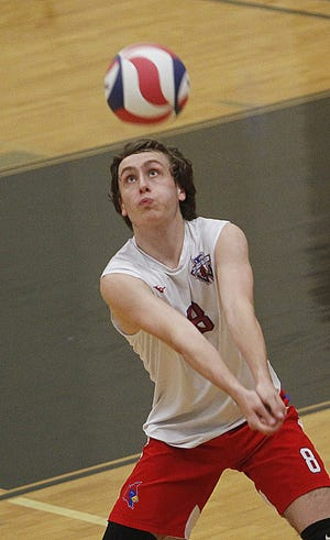 Senior Ethan Archer helped Thomas go 18-8 and reach a Division I, East Region final, which the Cardinals lost to Olentangy Liberty 25-20, 26-24, 25-18 on May 28 at Westerville Central.