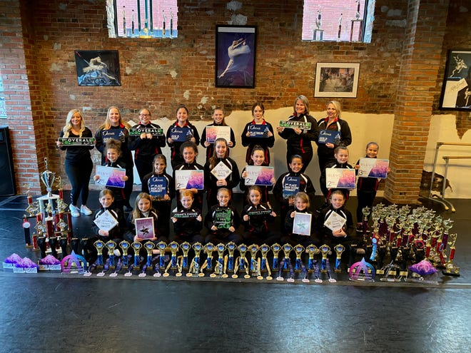 Dancers have also earned a Synergy Shine, 23 Platinums, 32 High Golds and 53 Golds.