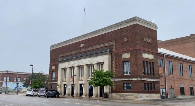 Wellington's Memorial Auditorium on N. Washington Ave.
