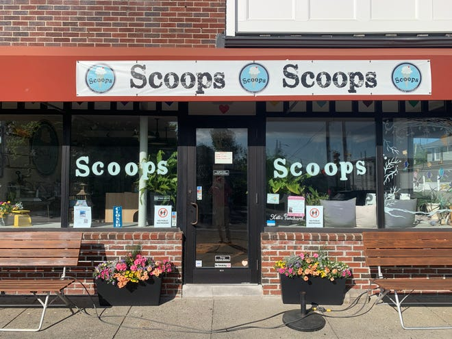 Scoops Ice Cream in Hull.