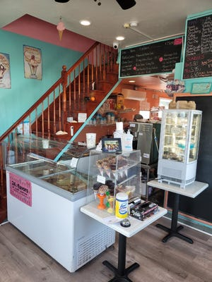 Michele's offers 47 flavors of hard ice cream in addition to 24 flavors of soft-serve ice cream.