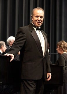 """Snug Harbor Community Chorus will perform two free, outdoor performances titled, """"Together Again!"""" at 4 p.m. June 27 and 4 p.m. July 2. Pictured is Dr. Randy McGee, Snug Harbor Community Chorus director."""