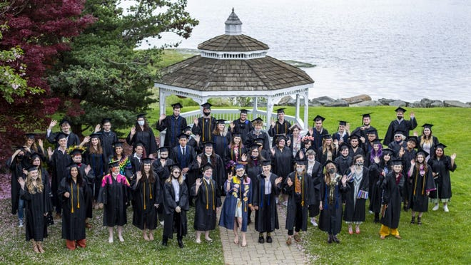 Montserrat College of Art Class of 2021.