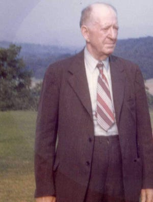 P.B. Orr Jr. submitted this color photo of his father, Dr. P.B. Orr of West Asheville, taken toward the end of his life.