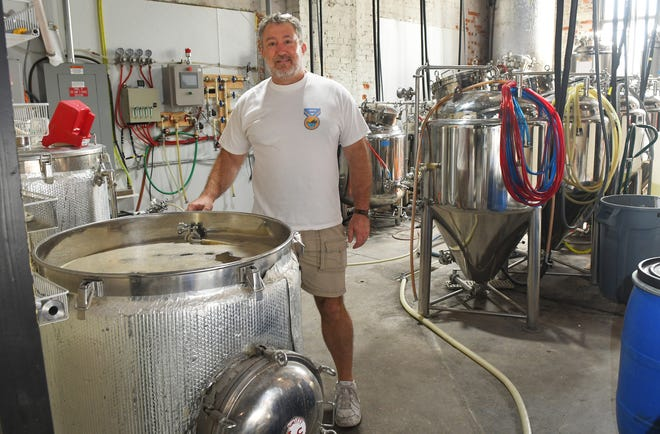 Steve Shannon , co-owner/ brewer at Bugnutty Brewing Company, located at 225 King Street, in Cocoa Village.