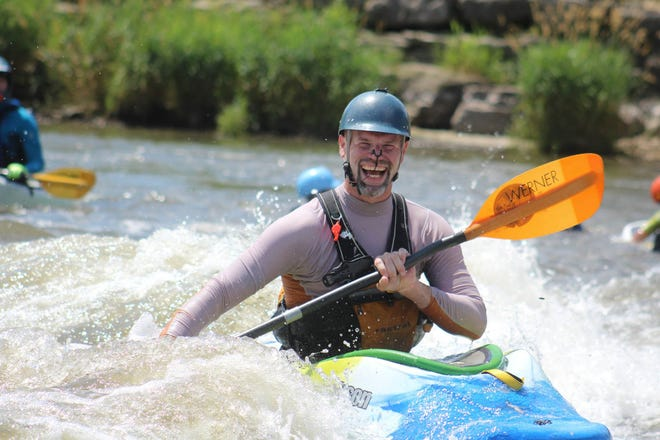 Iowa's first whitewater park opened in downtown Charles City on the Cedar River 10 years ago.
