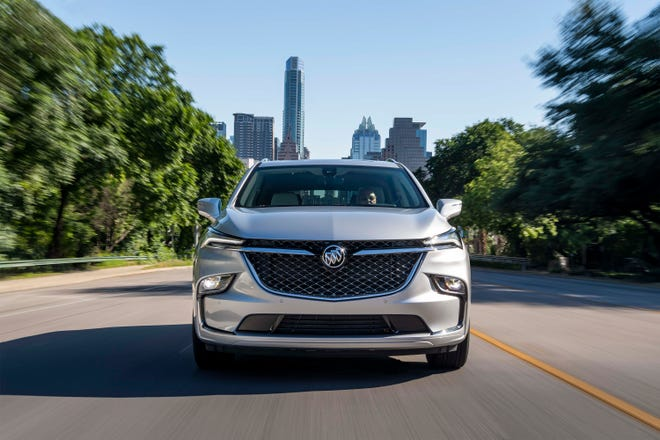 2022 Buick Enclave gets a new face.