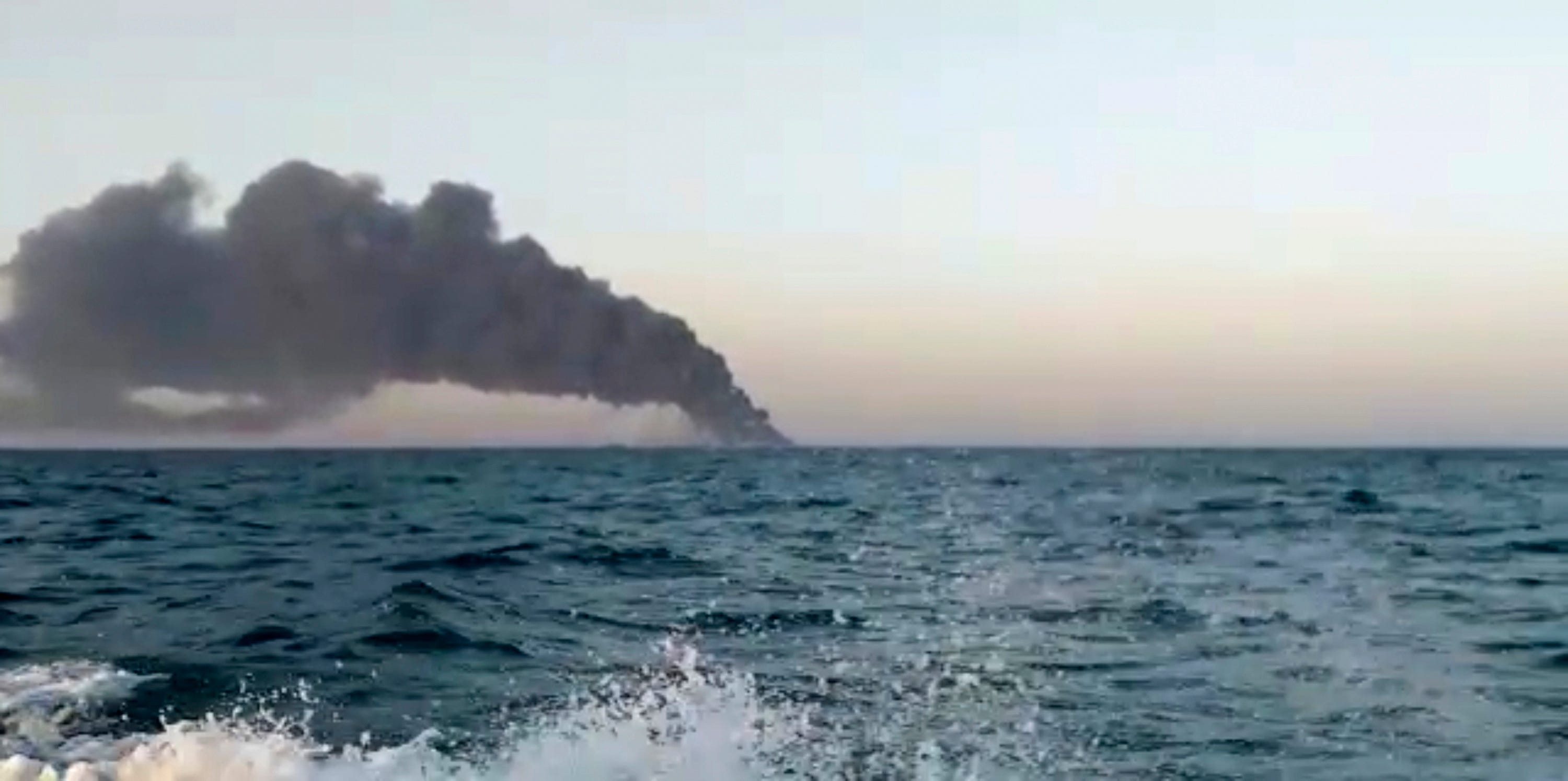 Iran's largest warship catches fire, sinks in Gulf of Oman 2