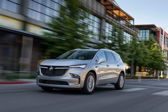 Buick has freshened its flagship SUV inside and out for 2022.