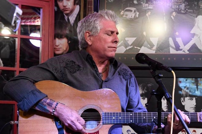 Naples singer-songwriter Tim McGeary