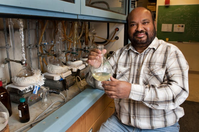 """Rajendra """"Raj"""" Rathore was a well-respected professor in organic chemistry at Marquette University. He died in February 2018."""