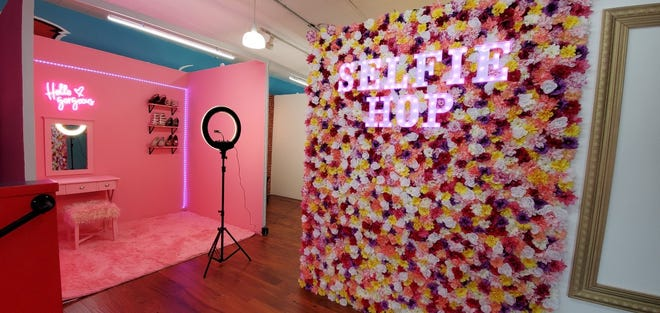 Selfie Hop, 2410 N. Farwell Ave., features 20 photo ops in a 2,500-square-foot space.