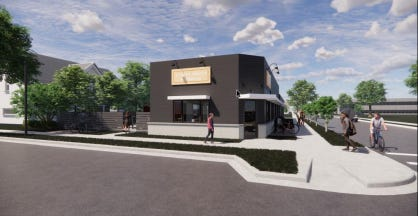 A restaurant would be part of a new development along Milwaukee's Beerline Trail.